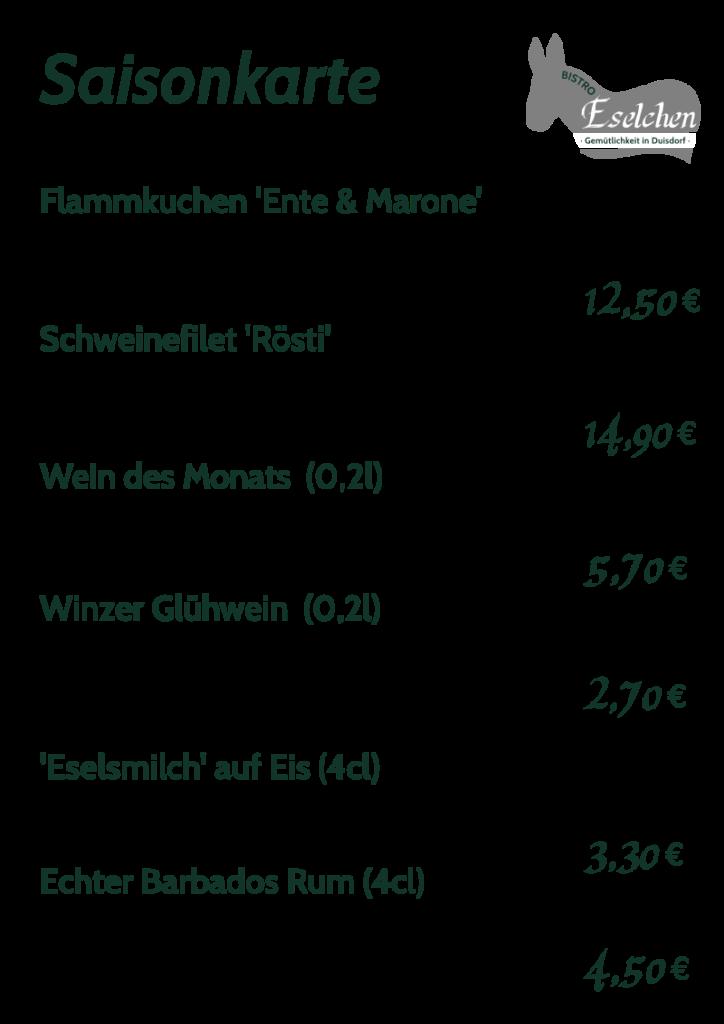 Saisonkarte Winterzeit