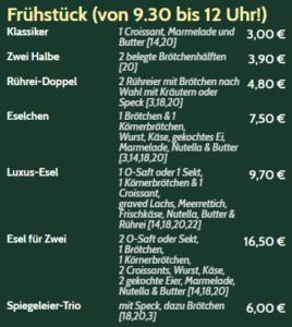Frühstück Bonn Duisdorf
