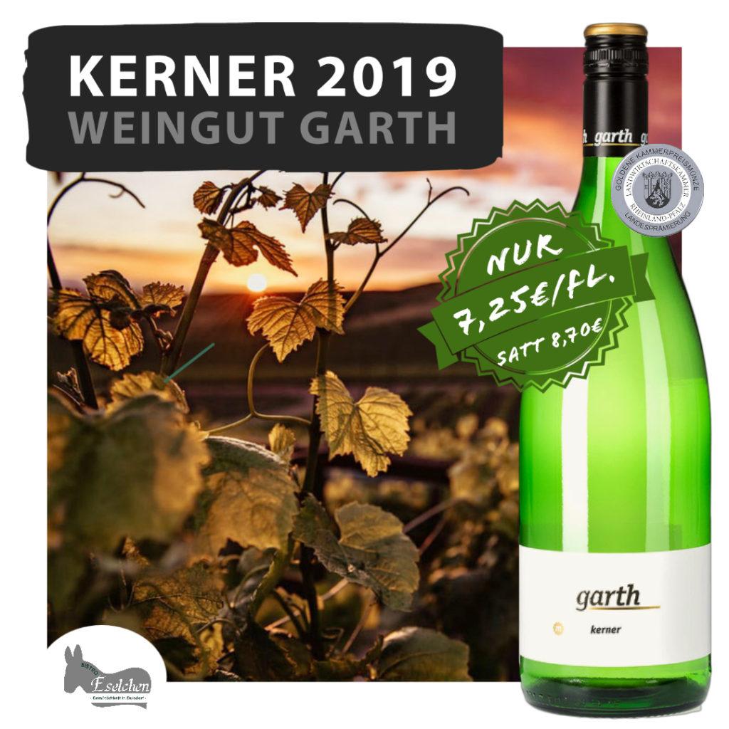 Kerner 2019: Den Weißwein bei uns im Weinshop in Bonn jetzt zu günstigen Preisen im 6er Karton bestellen.