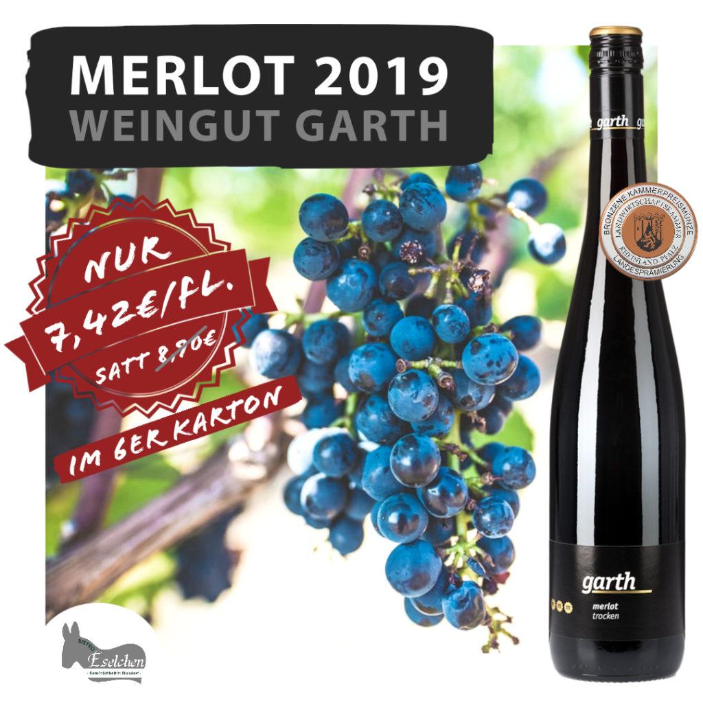 Der Merlot bei uns im Weinhandel in Bonn erhältlich.